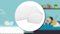 BREEZE MED the wedge shaped pillows for cot and pram