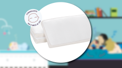 BREEZE the breathable pillow for cot