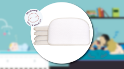 BREEZE the breathable pillow for pram