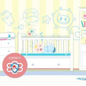 TOP SAFE, uno schermo efficace al 99,9% che protegge da acari e allergeni. Airmid healthgroup lo ha testato per noi